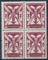 ** 1933 Repülő 2P Luxus Négyestömb (88.000) - Stamps