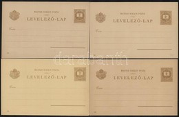 1896 27 Különféle Használatlan Millenniumi 2kr Díjjegyes Levelezőlap - Unclassified