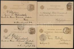 1896 23 Különféle Futott 2kr Díjjegyes Millenniumi Díjjegyes Levelezőlap - Timbres