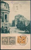 1901 Képeslap Nyomtatványként Feladva 'FIUME' - Canea (Kréta, Akkor 1898 és 1913 Között Független állam) 5f Tarifa érkez - Timbres
