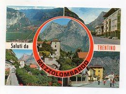 Mezzolombardo (Trento) - Saluti Da - Cartolina Multipanoramica - Non Viaggiata - (FDC16482) - Trento