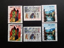 LUXEMBOURG MI-NR. 703-708 GESTEMPELT CARITAS 1964 - KINDERZEICHNUNGEN - Luxemburgo