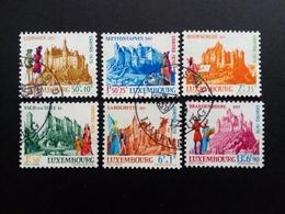 LUXEMBOURG MI-NR. 814-819 GESTEMPELT CARITAS 1970 BURGEN (II) - Luxemburgo