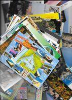 Beau Lot  *  Plus De  60 Cartes De Diverse Pays De Vacances *  50 Cartes Avec Timbres - Cartes Postales