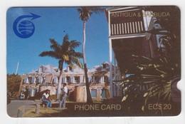 Antigua & Barbuda GPT Phonecard (Fine Used) Code ?CAT? - Antigua En Barbuda