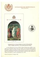 1996 - Sovrano Militare Ordina Di Malta BF 48 San Giovanni - Bollettino Illustrativo   9/112 - Sovrano Militare Ordine Di Malta