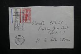 FRANCE - Enveloppe De Paris Pour Les Sables D'Olonne En 1972, Affranchissement Général De Gaulle - L 38010 - Storia Postale