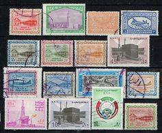 Arabie Saoudite / Saudi Arabia , Lot A =  16 Stamps ,  Gestemp. / Used / Oblitaire - Saudi-Arabien