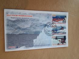 Année Polaire Internationale 2007/8 Du Chili Au FDC - Año Polar Internacional