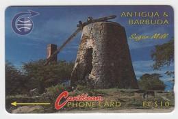 Antigua & Barbuda GPT Phonecard (Fine Used) Code 4CATA - Antigua En Barbuda