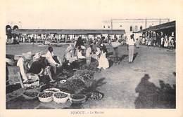 Afrique -  DJIBOUTI  Le Marché (- - Editions: Cliché G-B ) *PRIX FIXE - Gibuti