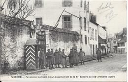 Pensionnat Du Sacré Cœur, Casernement De La 61° Batterie Du 102° Artillerie Lourde. (Voir Commentaires) - Ploërmel