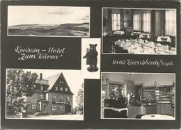 """BERNSBACH. Konsum - Hotel """"Zum Bären"""".  (scan Verso) - Bernsbach"""