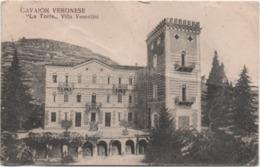 Cavaion Veronese (Verona): La Torre, Villa Vesentini. Formato Piccolo Non Viaggiata - Verona