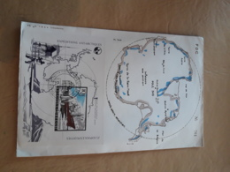 FDC Belgique, Expédition Antarctique - Expediciones Antárticas
