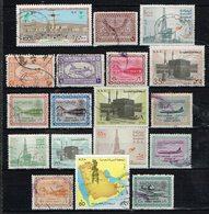 Arabie Saoudite / Saudi Arabia , Lot B  =  18 Stamps ,  Gestemp. / Used / Oblitaire - Saudi-Arabien