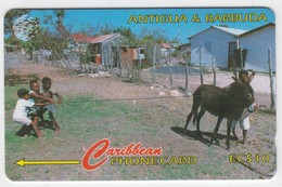 Antigua & Barbuda GPT Phonecard (Fine Used) Code 17CATA - Antigua En Barbuda