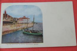 Ireland Queenstown Harbour 1909 + Ship To Underwood USA - Other