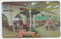 Barbados GPT Phonecard (Fine Used) Code 88CBDD - Barbades