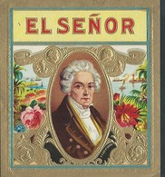 Etiquette De BOITE DE CIGARES El Señor - Labels