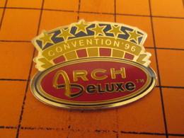 116b Pin's Pins / Beau Et Rare : Thème Mc DONALD'S / CONVENTION ARCH DE LUXE - McDonald's