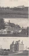 St Gérard - Lot De 3 Cartes (Château, Panorama 1909) - Fosses-la-Ville