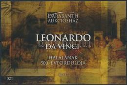 ** 2019 Leonardo Da Vinci Halálának 500. évfordulója Emlékív - Unclassified