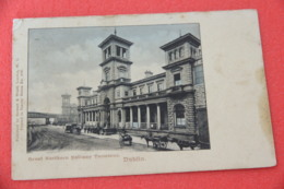 Ireland  Dublin Station Gare Bahnhof Greay Northern 1904 - Irlande