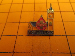 412a Pin's Pins / Beau Et Rare : Thème MEDICAL / DON DU SANG ARMENTIERES SALLE MARCEL DRACULA - Médical
