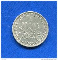 Franc  1908 - France
