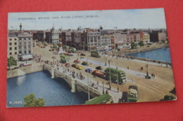 Ireland  Dublin O'Connell Bridge 1952 + Cancel Support Shilling - Other