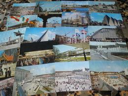 Lot De 20 Cartes De EXPO  1958 ( Wereldtentonstelling 1958 ) Carte Originale - Cartes Postales