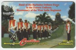 Barbados GPT Phonecard (Fine Used) Code 16CBDB - Barbades
