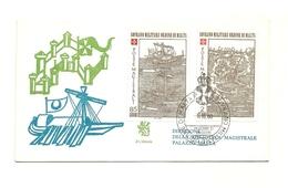 1980 - Sovrano Militare Ordine Di Malta 182/83 Assedio Di Rodi    FDC    14/64 - Sovrano Militare Ordine Di Malta