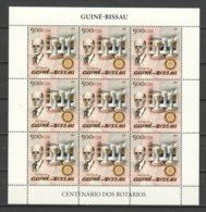 Guine Bissau 2005 Kleinbogen Mi 2904A MNH CHESS PIECES - ROTARY - Echecs