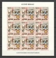 Guine Bissau 2005 Kleinbogen Mi 2904B MNH CHESS PIECES - ROTARY - Echecs