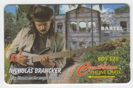 Barbados GPT Phonecard (Fine Used) Code 125CBDD - Barbades