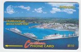 Barbados GPT Phonecard (Fine Used) Code 10CBDA - Barbades