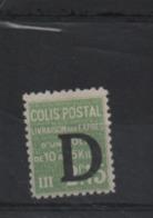Frankrijk Colis Post Ongebruikt (MH) Yvert 140 - Colis Postaux