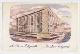 AI98 The Queen Elizabeth Hotel, Montreal - Hotels & Restaurants
