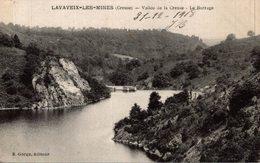LAVAVEIX LES MINES VALLÉE DE LA CREUSE LE BARRAGE - Francia