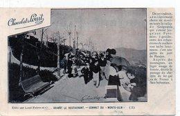 SAN SEBASTIAN - Sommet Du Mont-Ulia - Chocolat Louit1Coin Coupé) - Spain