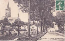 CPA -  51. SAINTES - Cours Reverseaux - Saintes