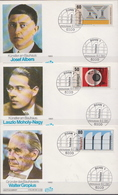 Germany Set On 3 FDCs From 1982 - Art