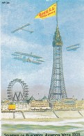 AO18 Advertising - Reproduction Poster - Shell Motor Spirit, Blackpool Aviation Week - Advertising