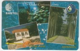 Barbados GPT Phonecard (Fine Used) Code 14CBDB - Barbades