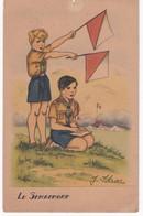 Scoutisme -  Illustrateur J. IDRAC -  Le Sémaphore - Etat - Scoutisme