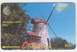 Barbados GPT Phonecard (Fine Used) Code 10CBDC - Barbades