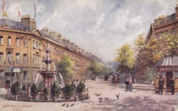 AN33 Gt. Pulteney Street, Bath By Charles Flower - Tuck Oilette - Bath