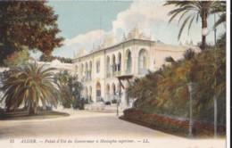 AN33 Alger, Palais D'Ete Du Gouverneur A Mustapha Superieur - LL Postcard - Algiers